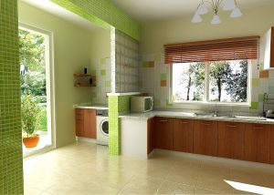 Contemporary Residential Architecture kitchen interior in Nigeria